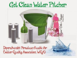 Get Clean Water Pitcher Shaklee
