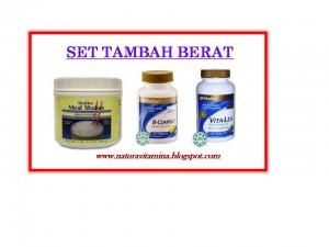 SET TAMBAH BERAT BADAN SHAKLEE
