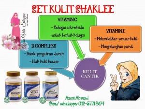 Set Kulit Shaklee + ESP