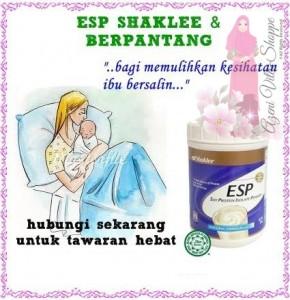 ESP Shaklee - Untuk Pantang