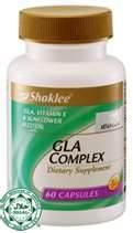 GLA untuk Set Pantang Shaklee