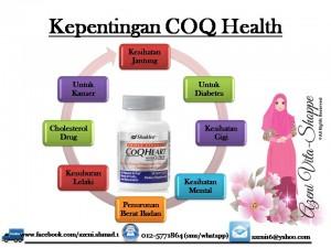 COQ Health Plus Shaklee : Kelebihan COQ Health Shaklee