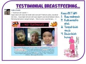 Testimonial Set Penyusuan Shaklee