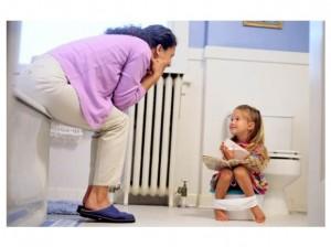 Ajar Anak Untuk Kencing Dalam Toilet