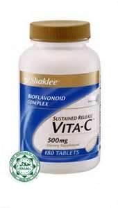 Vitamin C untuk Set Pantang Shaklee