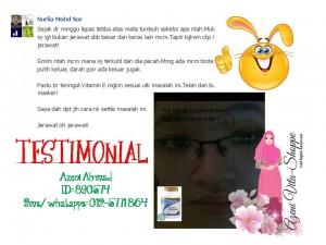 Testimonial Vitamin E Shaklee