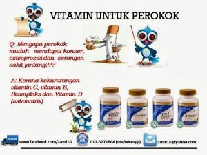 Vitamin Untuk Perokok