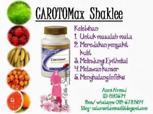 Carotomax Shaklee Membantu Masalah Mata
