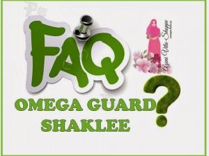 FAQ Mengenai Omega Guard Shaklee