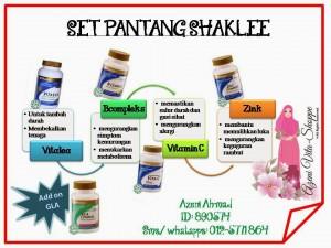 Set Pantang Shaklee