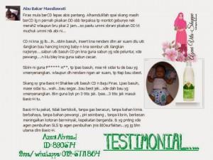 Testimonial Basic H: Pencuci Pelbagai Kegunaan