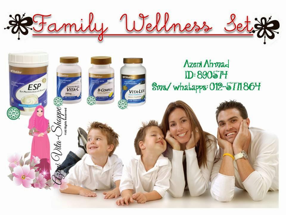 Vitamin Asas Untuk Tubuh Badan : Family Wellness Set Shaklee