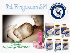 Masalah Susu Badan Berkurangan Boleh Di Atasi Dengan Set Penyusuan Shaklee