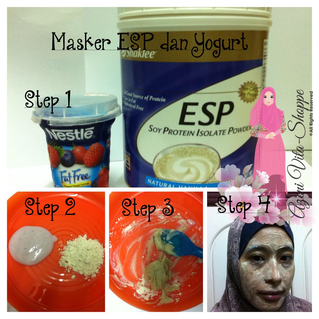 Masker ESP Untuk Kulit Lebih Lembut dan Glowing