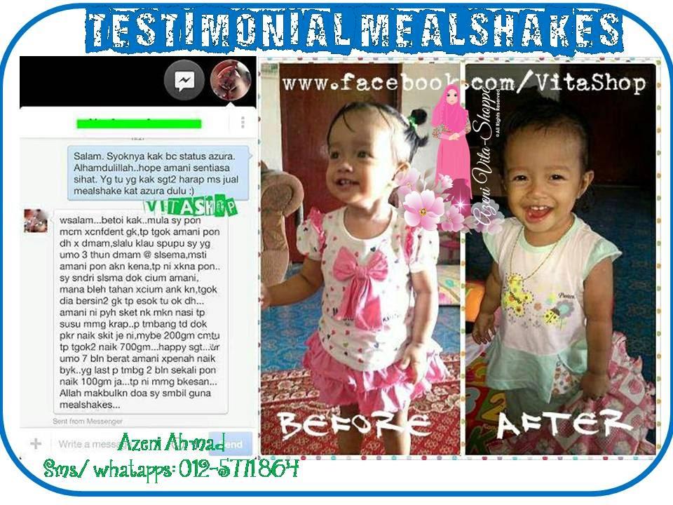 Mealshakes untuk anak yang ada asma
