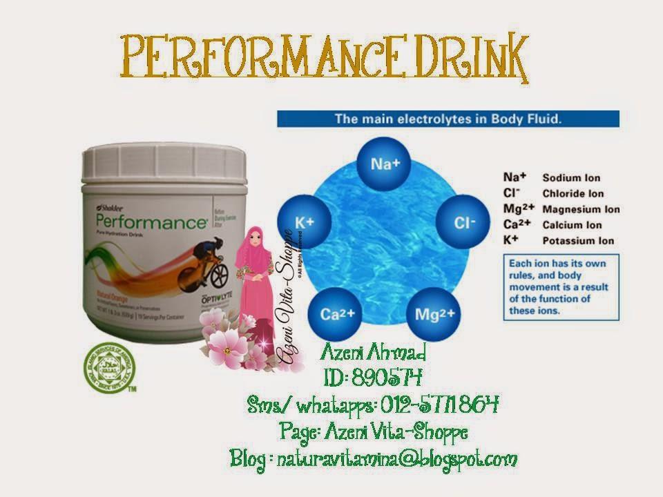 Gabungan Performance Drink dan ESP untuk bertenaga