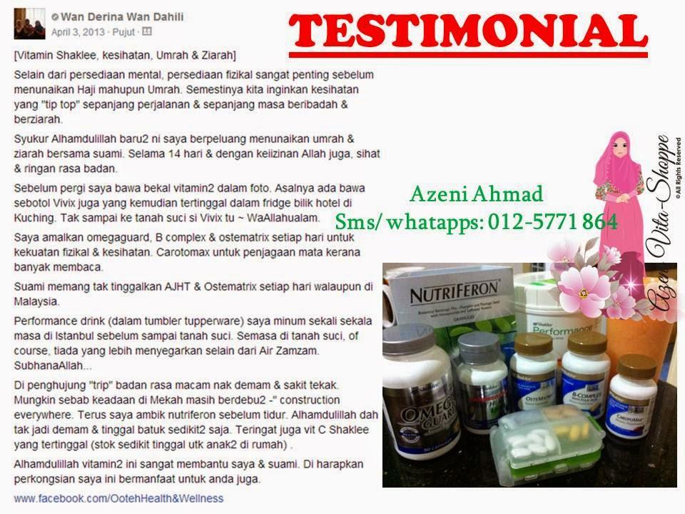 Testimonial Set Haji dan Umrah