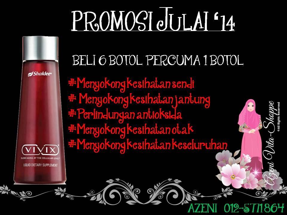 Promosi Julai 2014 - VIVIX Shaklee