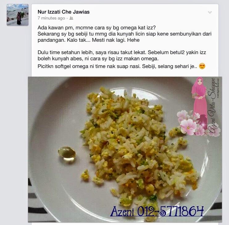 Cara maka omega guard dengan nasi goreng