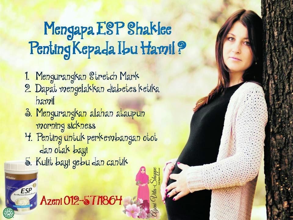 ESP Penting untuk wanita hamil