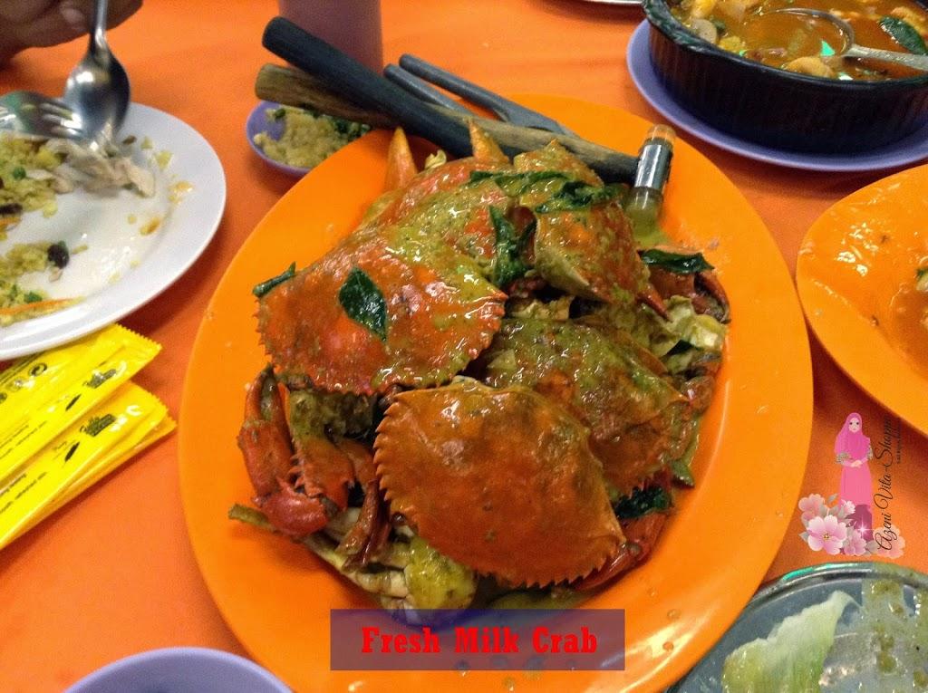Menu Masakan Ketam Terbaik di Kuala Selangor!
