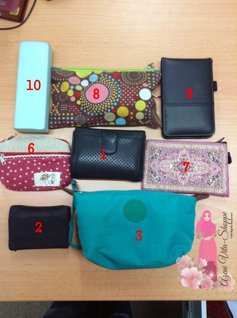Cabaran Blog Entry ke 3: Ada Apa Dalam Handbag Saya