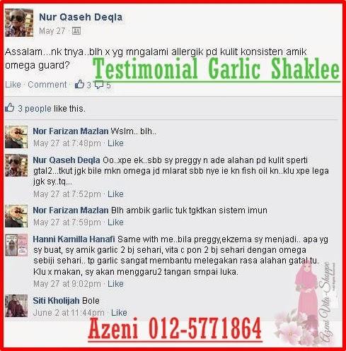 Garlic Shaklee Untuk Kegatalan Kulit