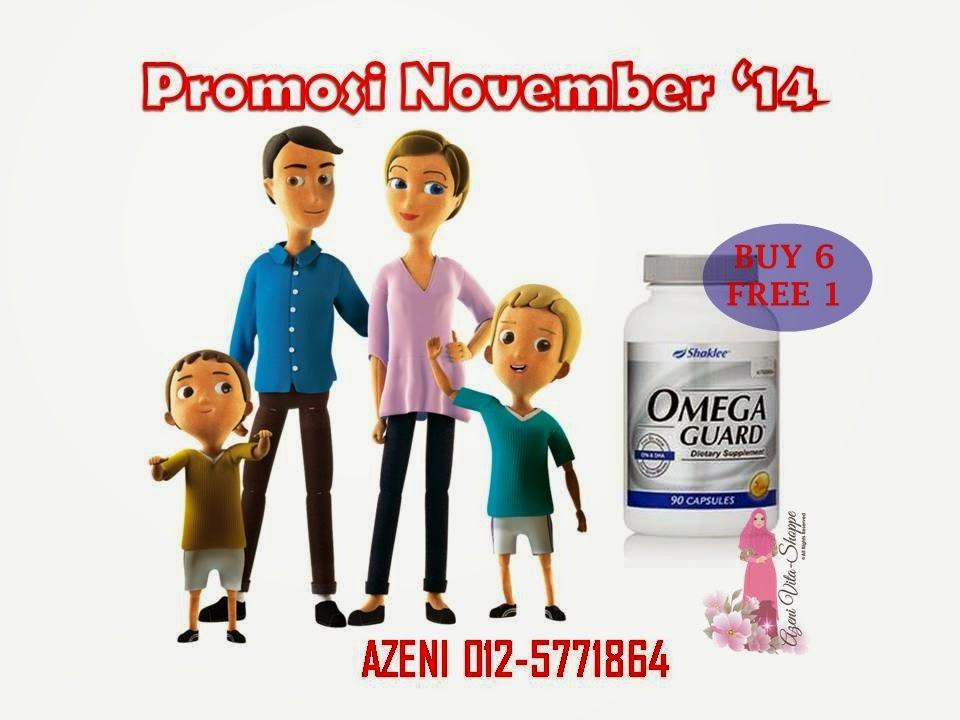 Promosi November 2014 - Omega Guard Shaklee