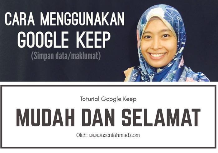cara menggunakan google keep