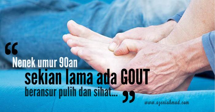 cara elak gout menyerang