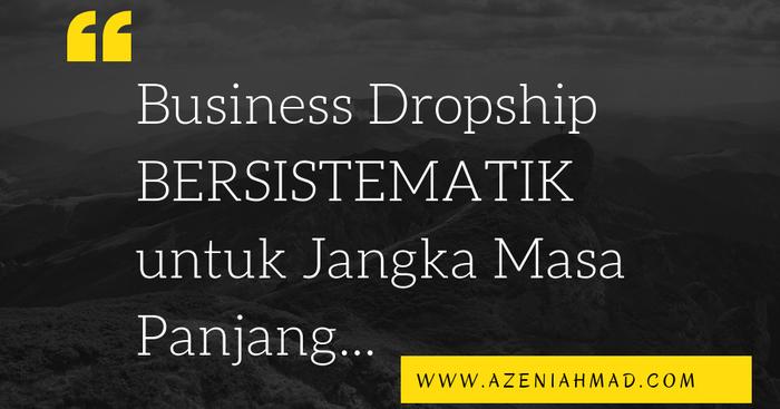 business dropship untuk jangka masa panjang