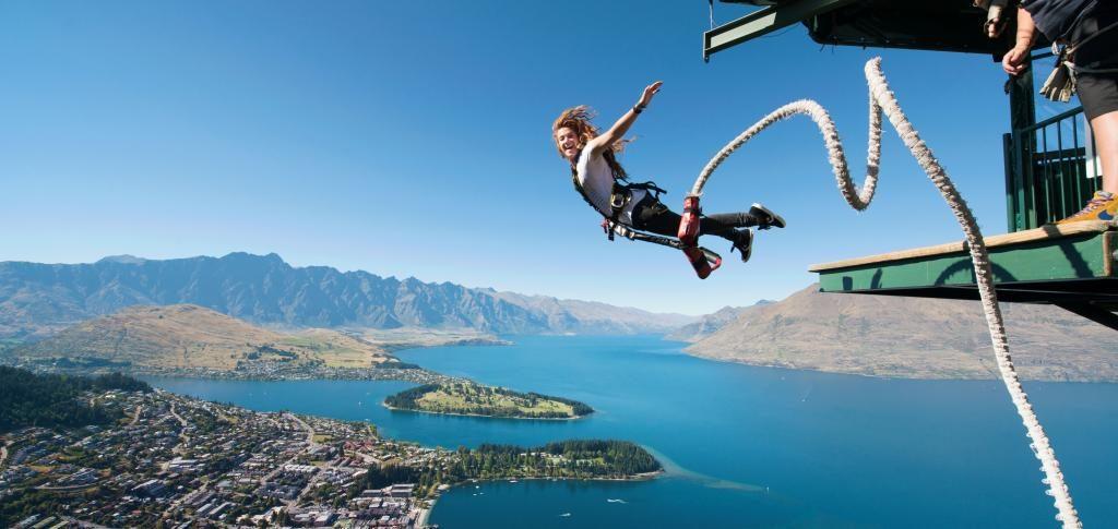 impian bungee jumping